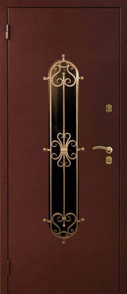 купить металлическую дверь под ковку